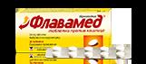 Опаковка с блистер Флавамед® таблетки против кашлица 30 mg